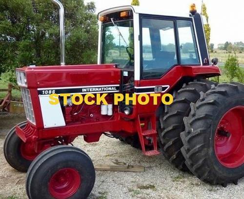 International 1086 Tractor