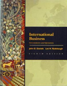 International Business 1998 HB w/ CD :: FREE Shipping