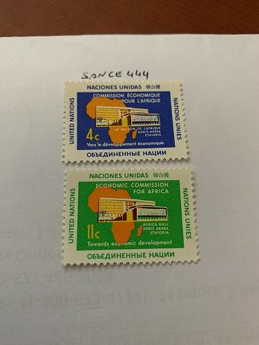 United Nations Africa commission 1961 mnh stamps