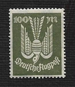 German MNH #C18 Catalog Value $.38