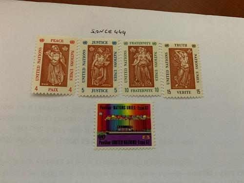 United Nations EXPO 1967 mnh stamps