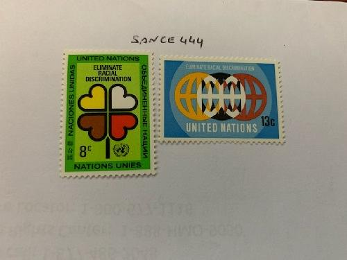United Nations Anti racism 1971 mnh stamps