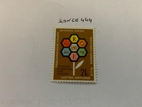 United Nations Economic commission 1972 mnh stamps