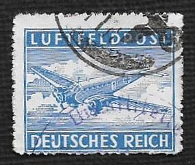 German Used #MC1a Catalog Value $.75