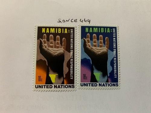 United Nations Namibia 1976 mnh stamps