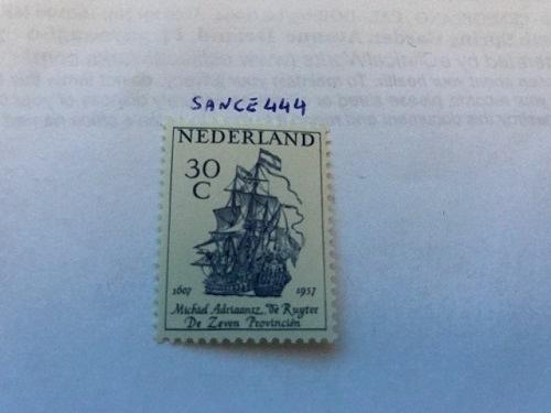 Netherlands Michiel de Ruyter 30c mnh 1957 stamps