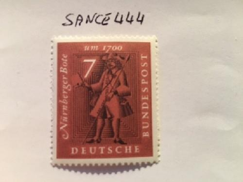 Germany Philatelic exposition mnh 1961 stamps