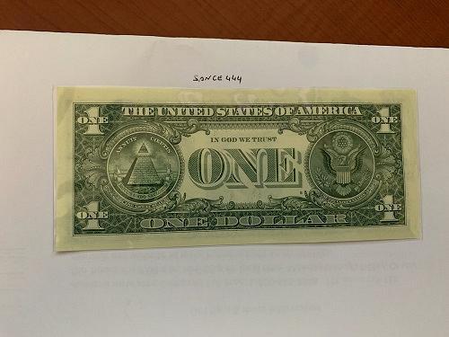 United States Washington $1.00 uncirc. banknote