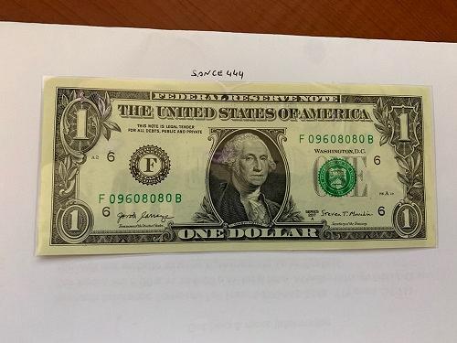 United States Washington $1.00 uncirc. banknote #2