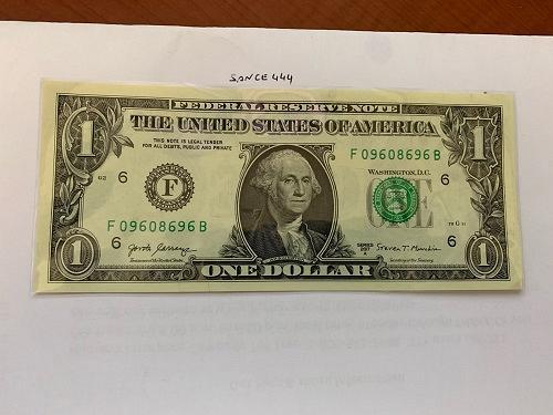 United States Washington $1.00 uncirc. banknote #4