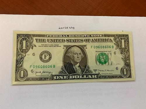 United States Washington $1.00 uncirc. banknote #6