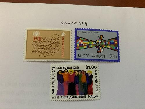 United Nations Definitives 1978 mnh stamps