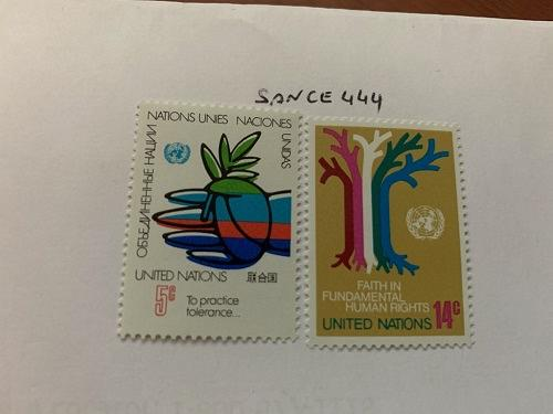 United Nations Definitives 1979 mnh stamps