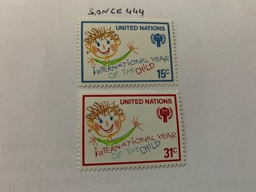 United Nations Year of the child 1979 mnh stamps