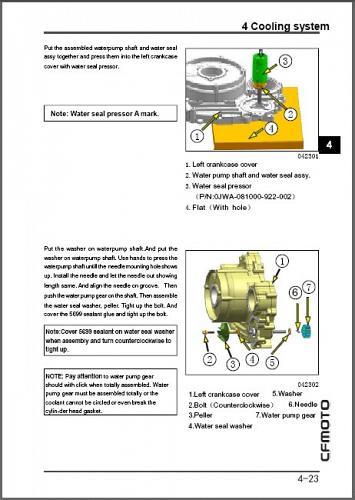 CFMoto ZForce 1000 ( CF1000US-2 ) UTV Service Repair Manual on a CD