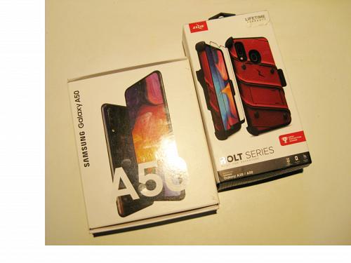 """NEW"" 64gb Sprint/T-mobile Samsung A50 Bundle Deal!!!"