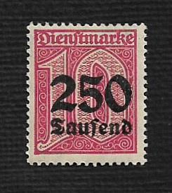 German MNH #O32 Catalog Value $.49
