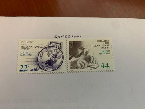 United Nations Philately 1986 mnh stamps