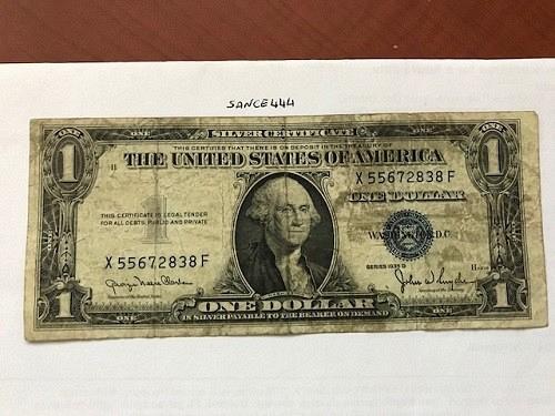 United States Washington circulated banknote 1935 #5