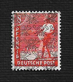 German MNH Scott #619 Catalog Value $1.03
