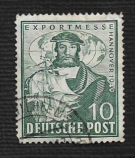 German Used Scott #662 Catalog Value $2.25
