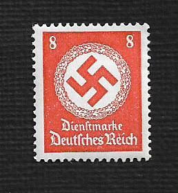 Germany Hinged Scott #O96 Catalog Value $.25