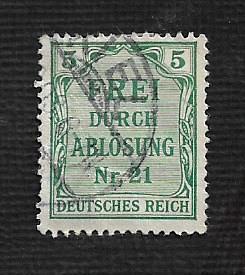 German Used #OL3 Catalog Value $.55