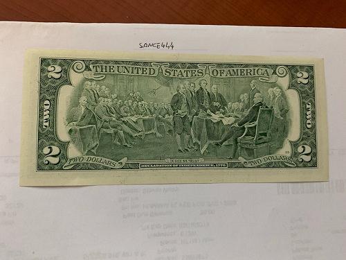 United States Jefferson $2 uncirc. banknote 2003 #15