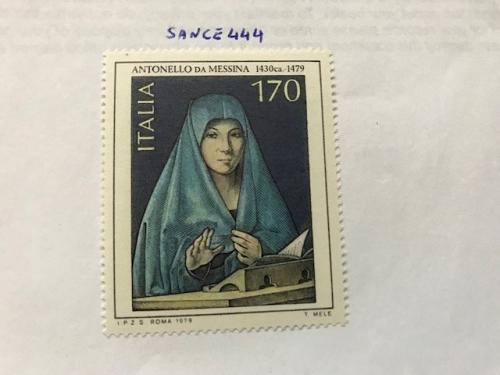 Italy Art Antonello da Messina Painting 1979 mnh stamps