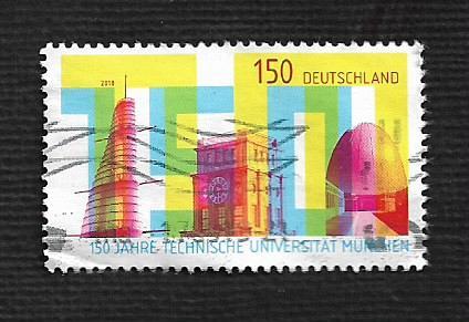 German Used Scott #3033 Catalog Value $1.90