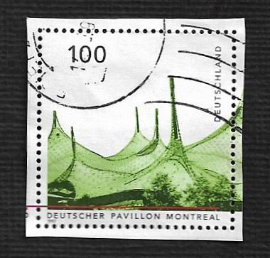German Used Scott #1959d Catalog Value $1.20
