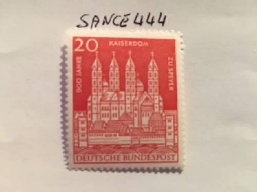 Germany Speyer cathedral mnh 1961 stamps