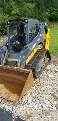 2018 Deere 317G Skid Steer Loader
