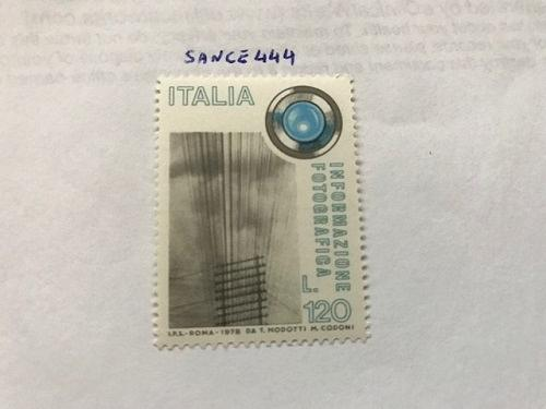 Italy Photographic information 1978 mnh stamps