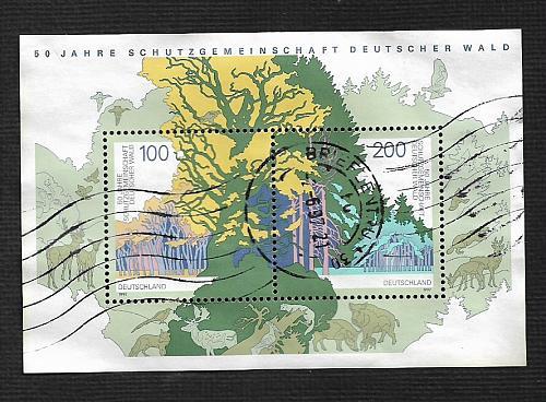German Used #1968 Catalog Value $2.75