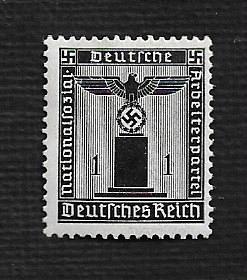 Germany Hinged Scott #S1 Catalog Value $.75