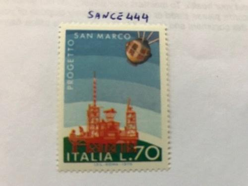 Italy Space exploration mnh 1975 stamps