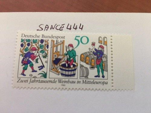 Germany Wine culture mnh 1980 stamps