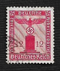 German Used Scott #S18 Catalog Value $1.15