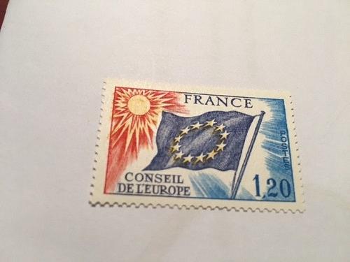France Conseil de l'Europe 1.20 mnh 1975 stamps