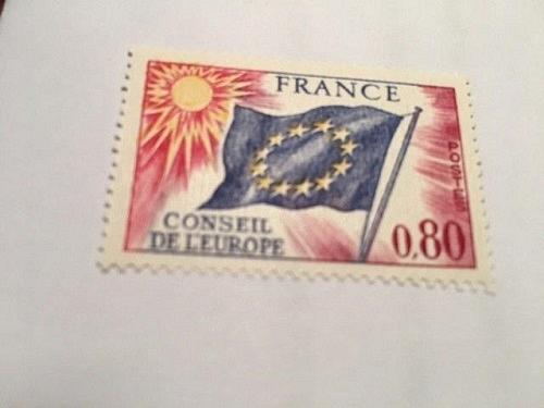 France Conseil de l'Europe 0.80 mnh 1975 stamps