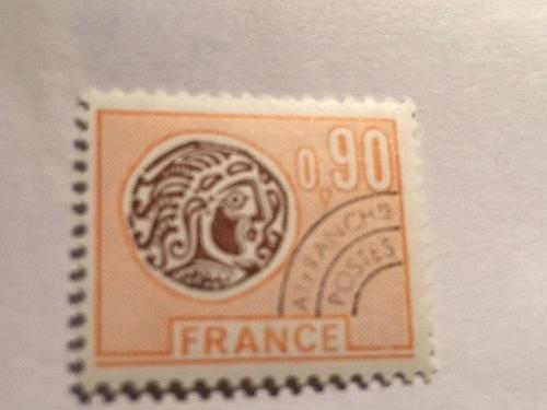 France Celtic Coin 0.90 Precanc. mnh 1976 stamps