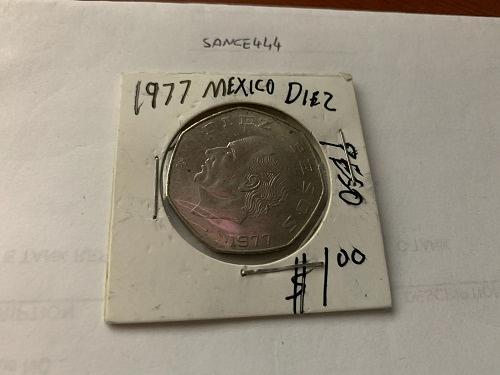 Mexico 1 peso circulated coin 1977