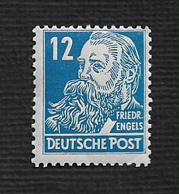 German MNH Scott #10N33 Catalog Value $2.59