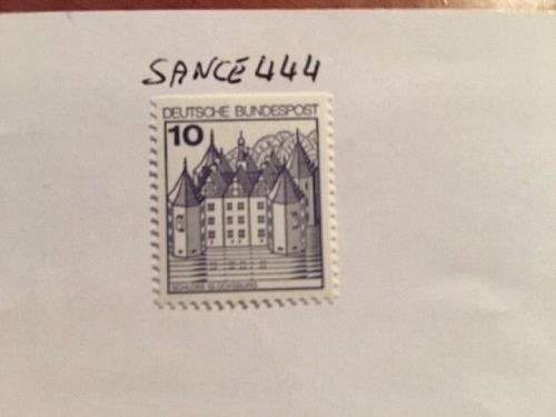 Germany Castle 10p top imperf. mnh 1990 stamps