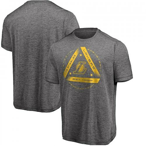 NEW NBA Men's Gray Los Angeles Lakers We Win You Lose Showtime T-Shirt all Size