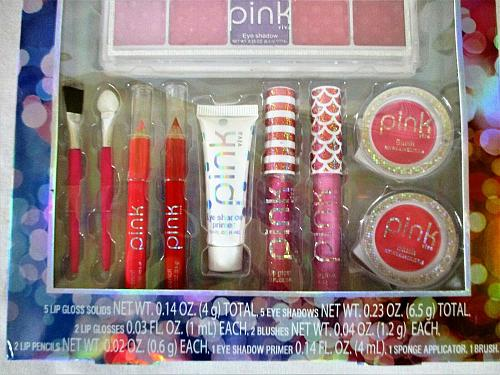 PINK VIVA 19 piece Makeup Set SEALED BRAND NEW