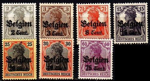 GERMANY REICH Besetzung [Belgien] MiNr 0010 ex ( **/mnh ) [01]