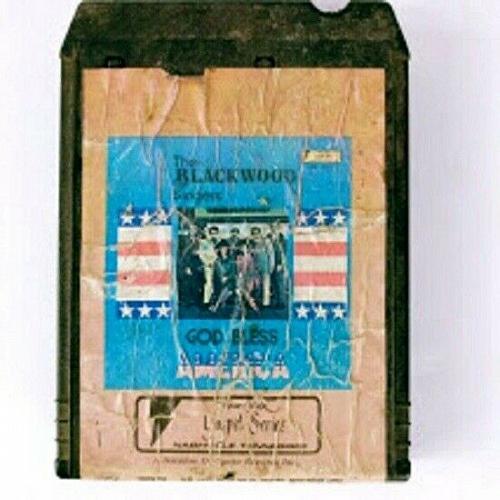 The Blackwood Singers God Bless America (8-Track Tape, PG-1708)