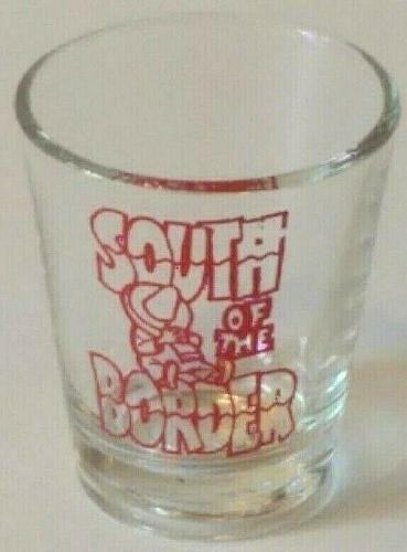 """South of the Border 2.25"""" Collectible Shot Glass"""